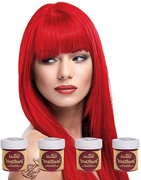Fire Directions Semi-Permanent Hair Colour