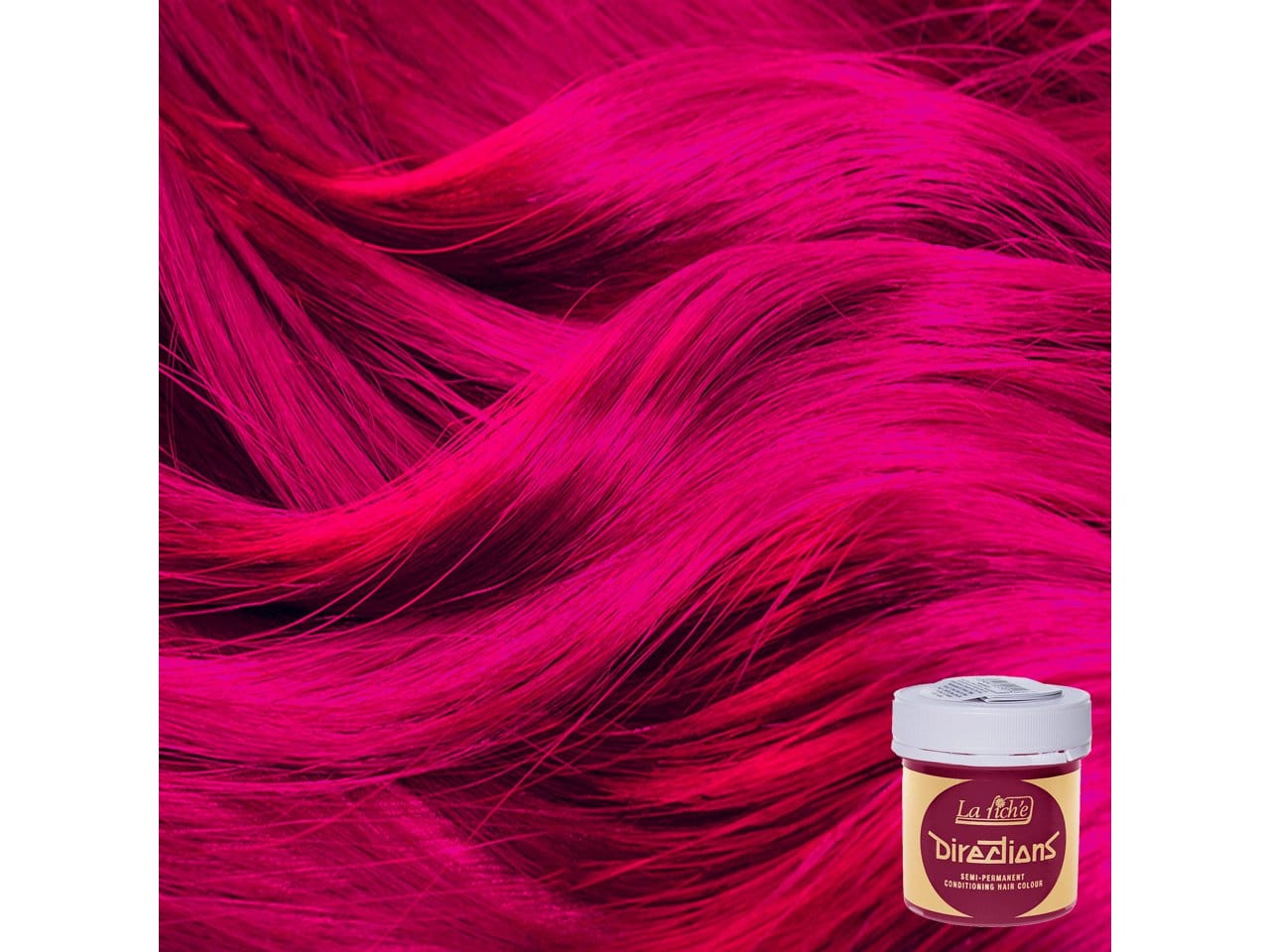 Flamingo Pink Directions Semi-Permanent Hair Colour