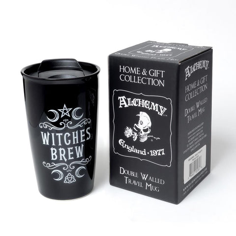Crescent Witches Brew Double Walled Mug