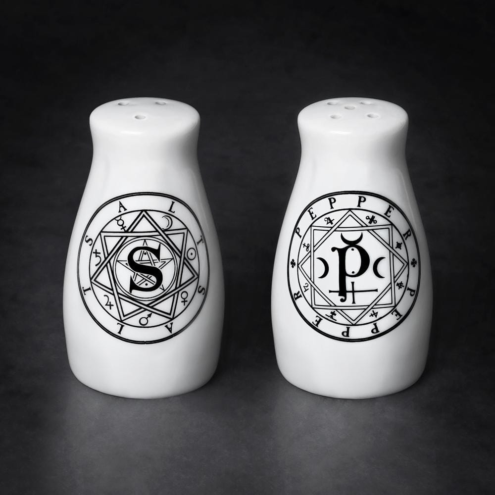 'S' & 'P' Salt & Pepper set