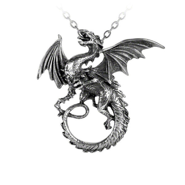 The Whitby Wyrm Pendant - Goth Unite