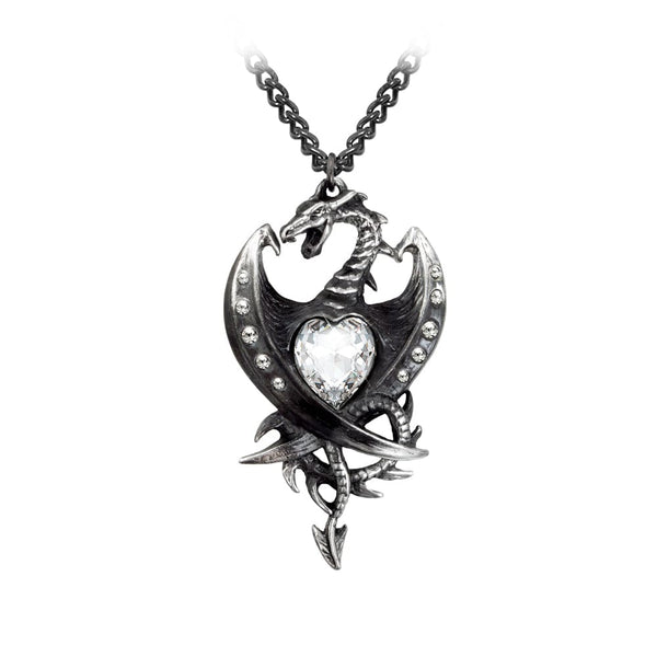 Diamond Heart Pendant - Goth Unite