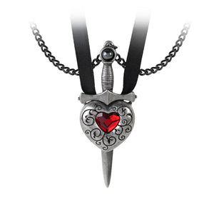 Love is King Necklace - Goth Unite
