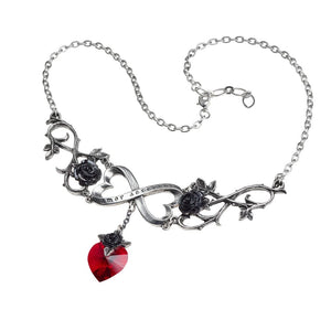 Infinite Love Necklace - Goth Unite