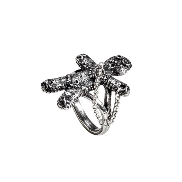 Voodoo Doll Ring - Goth Unite
