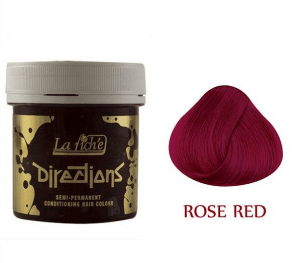 Rose Red Directions Semi-Permanent Hair Colour