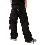 Creeper Red Stitched pants