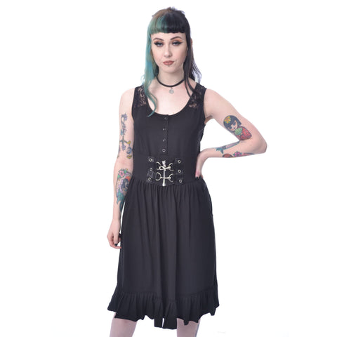 DELILAH DRESS - BLACK