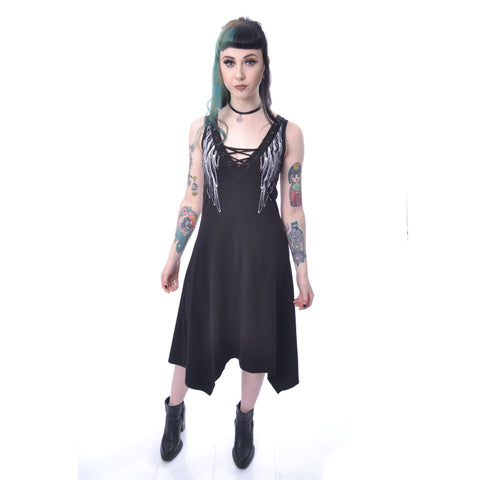 FAITH DRESS - BLACK