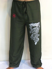 Mens Dragon Pants in Green