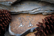 Classic Trinity Sterling Silver Earrings