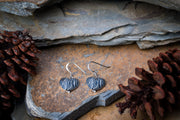 Angel Heart Sterling Silver Earrings