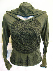 Unisex Dreamcatcher Hoodie in Green