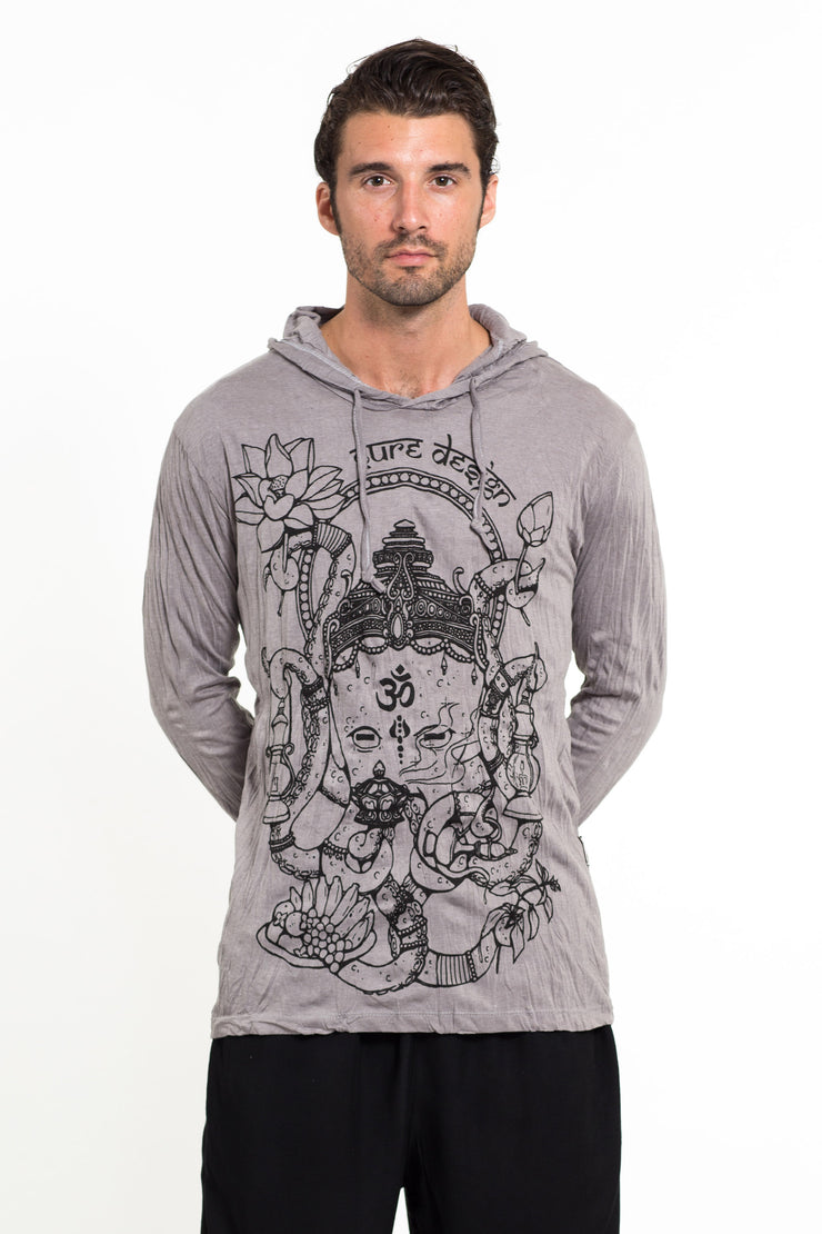 Unisex Octopus Oracle Hoodie in Gray