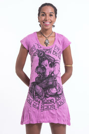 Womens Baby Ganesh Dress in Pink