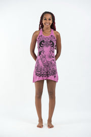 Womens Batman Ganesh Tank Dress in Pink