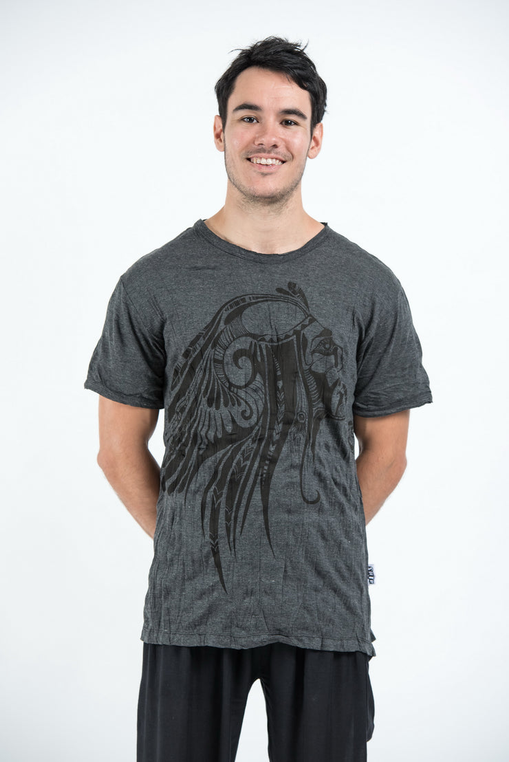 Mens Indian Chief T-Shirt in Black