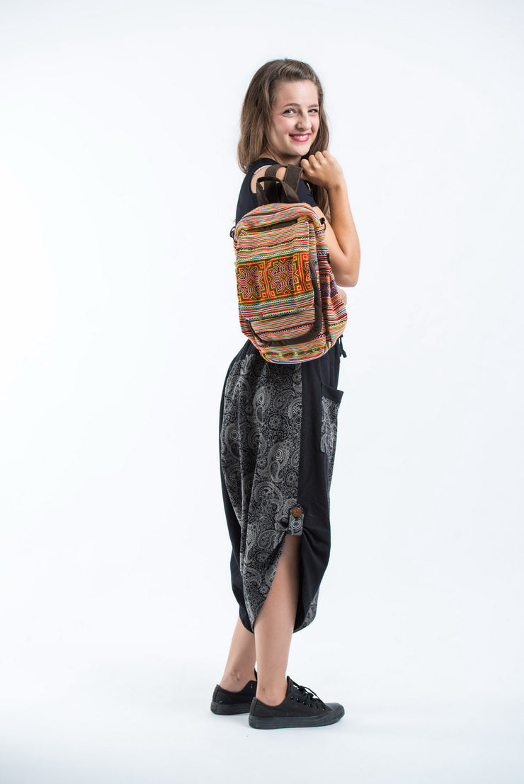 Hmong Hill Tribe Classic Embroidered Backpack