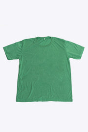 Plain Cotton T-Shirt in Green
