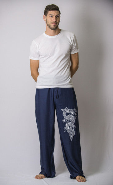 Mens Dragon Pants in Navy