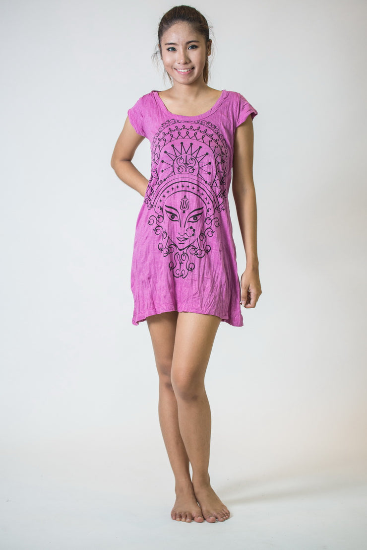 Womens Durga Dress in Pink