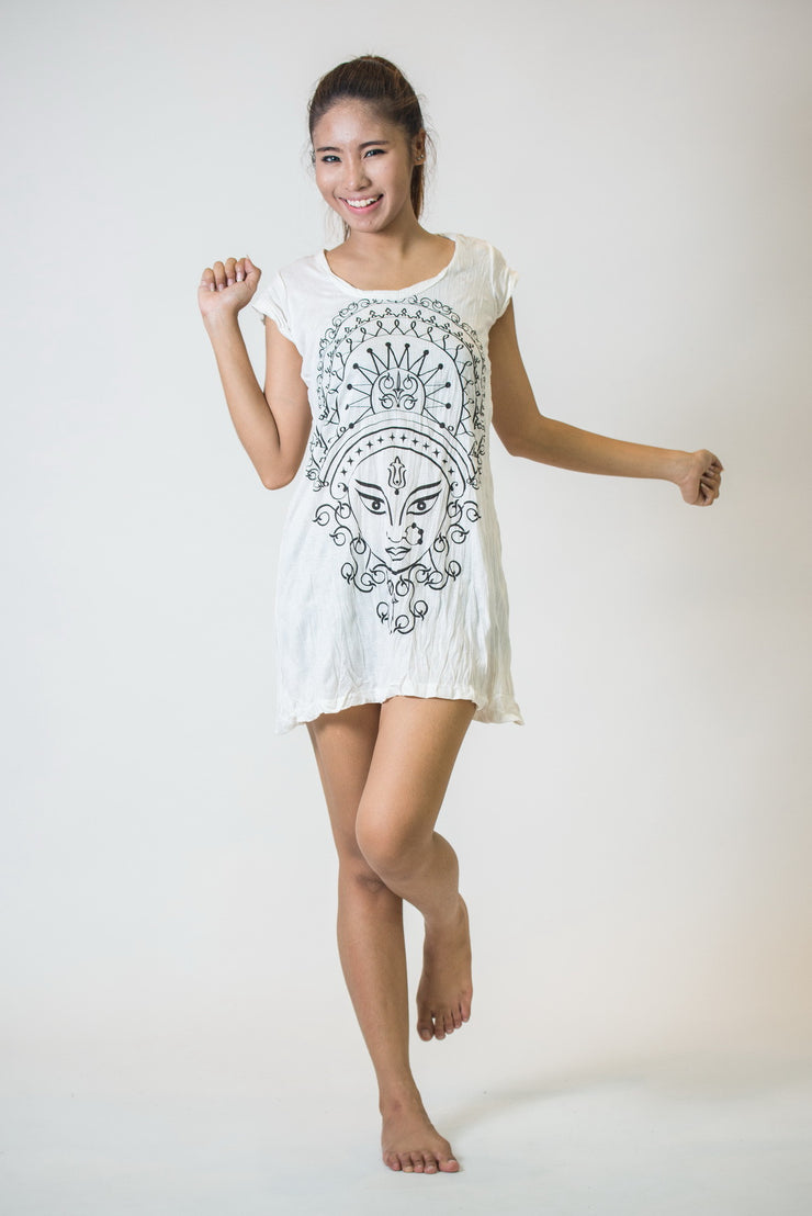 Womens Durga Dress in White