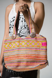Hmong Hill Tribe Classic Embroidered Handbag