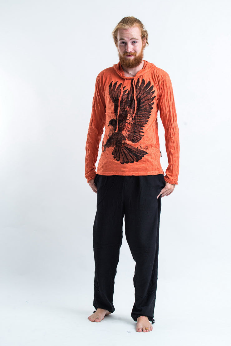 Unisex Eagle Hoodie in Orange