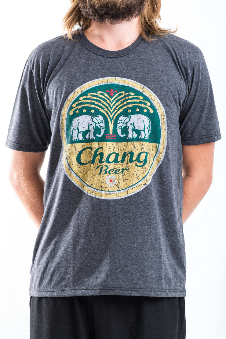 Vintage Style Chang Beer T-Shirt in Black