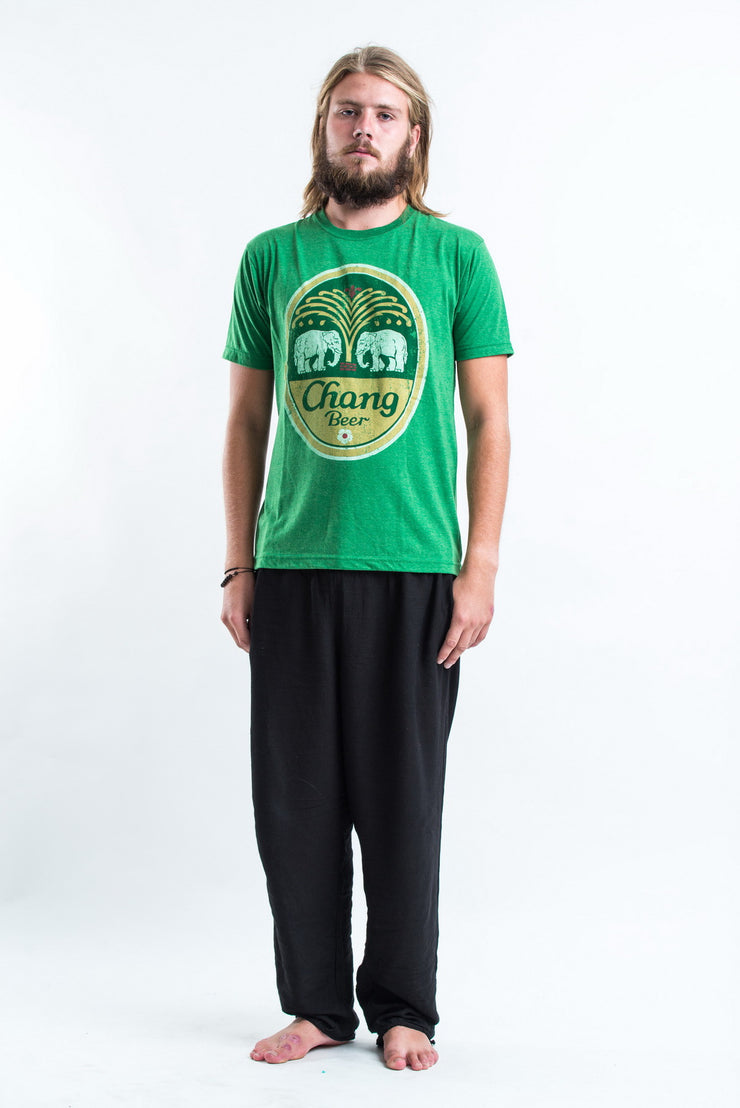 Vintage Style Chang Beer T-Shirt in Green