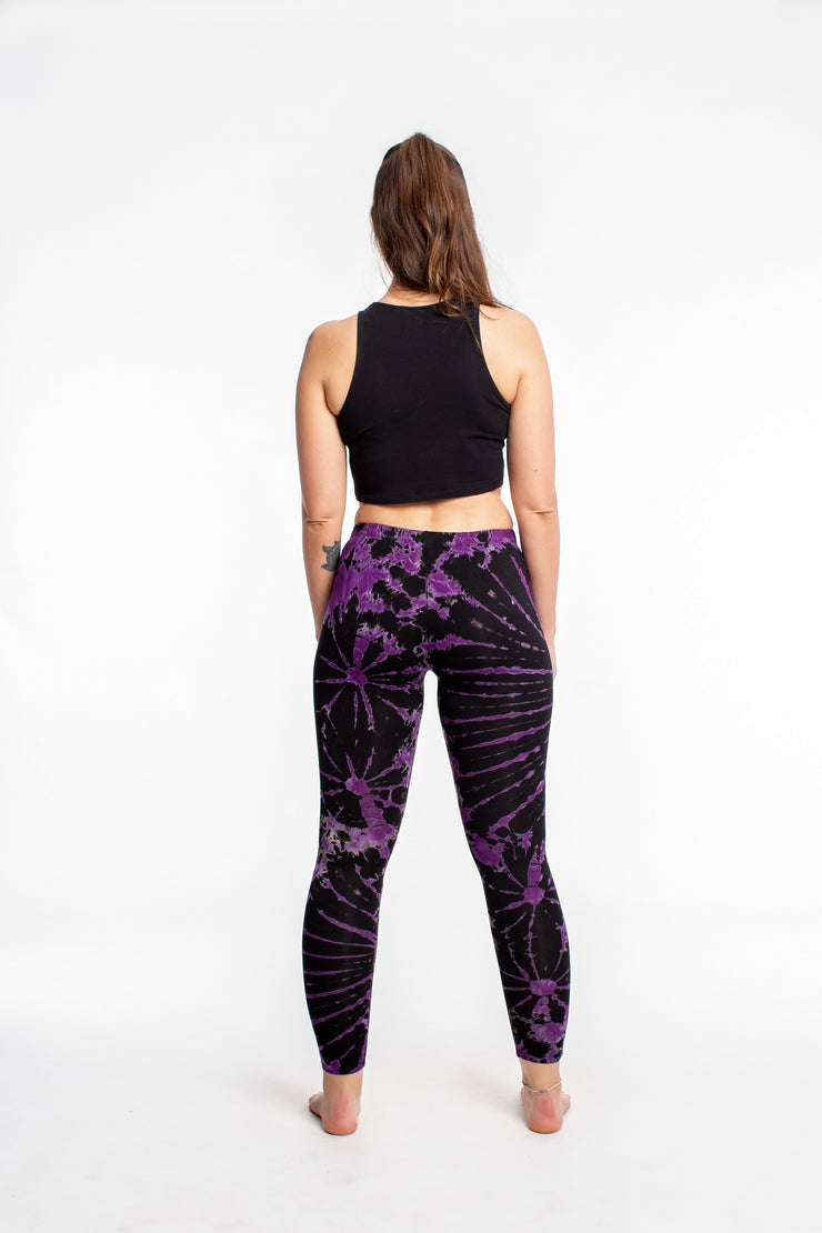 Womens Tie Dye Yoga Leggings