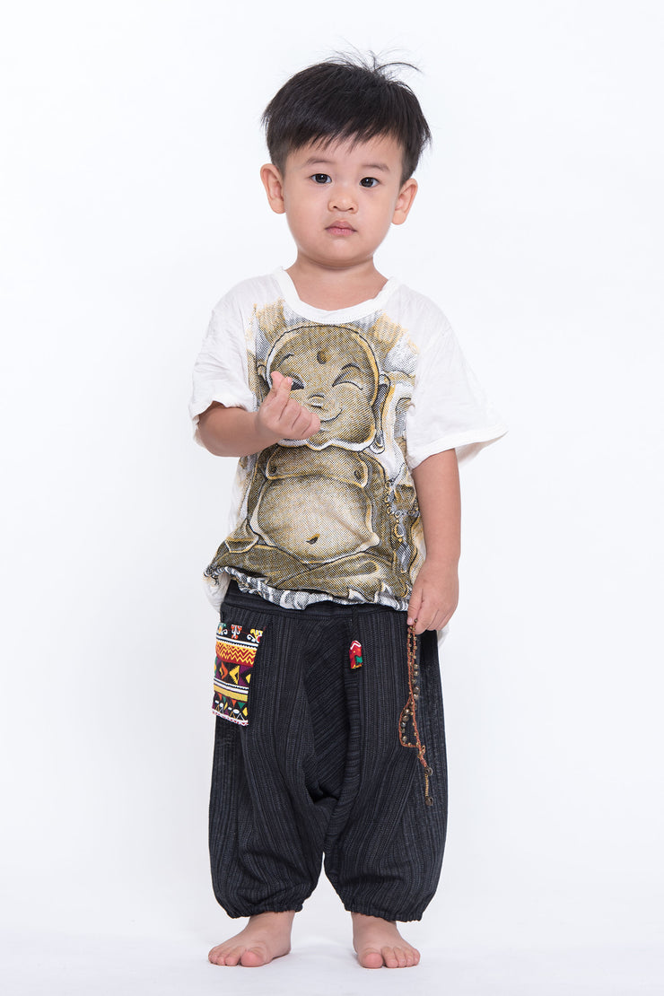 Kids Baby Buddha T-Shirt in White