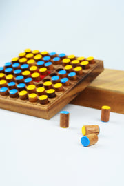 Hand Crafted Mini Wood Othello