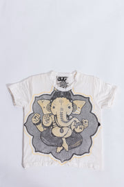 Kids Baby Ganesh T-Shirt in White