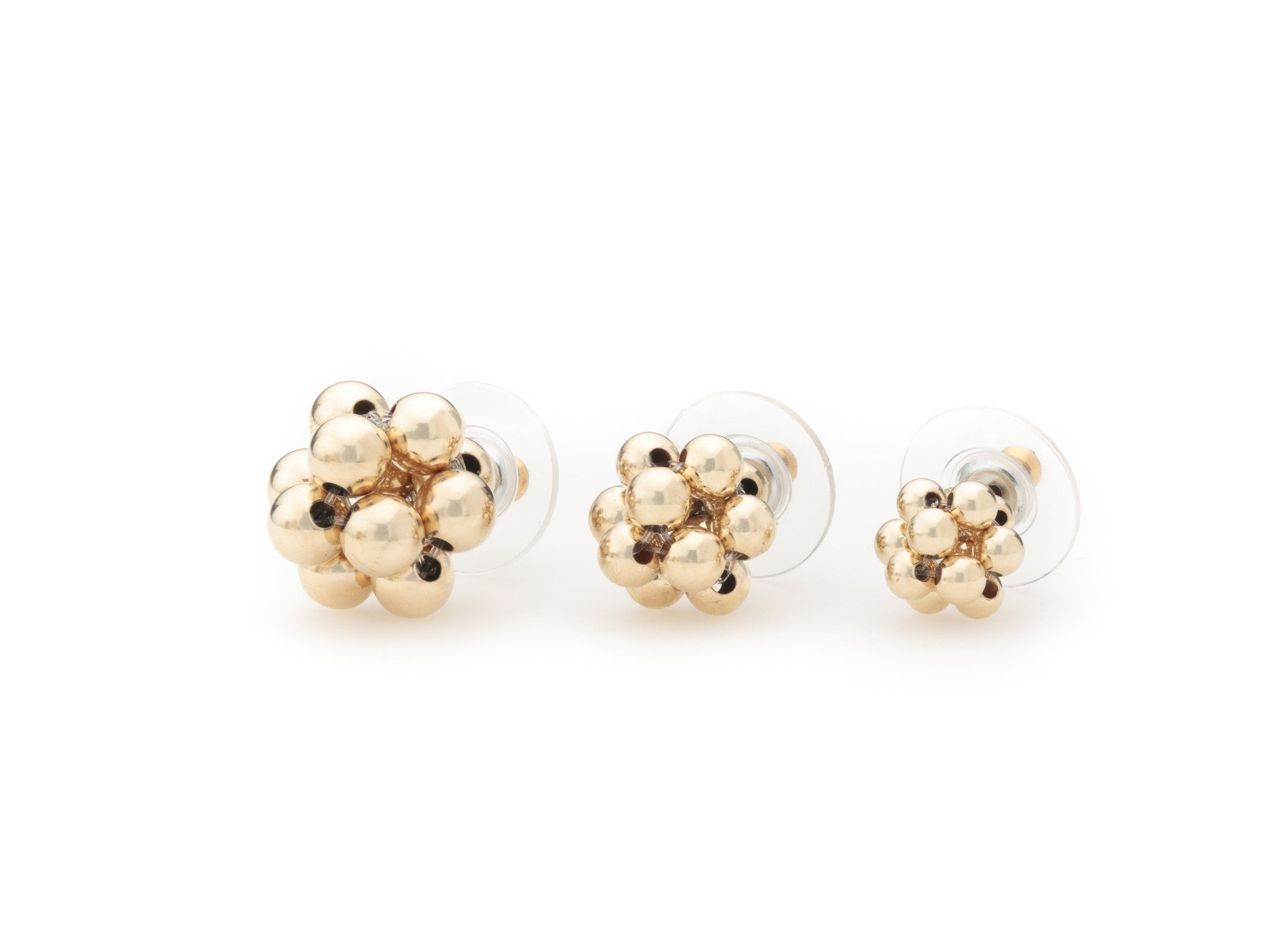 Cluster Studs, Swarovski Crystal (Click To View All Colors)