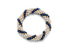 4mm Cluster Bracelets, Gold and Semiprecious Spiral Pattern, (Click to View All)