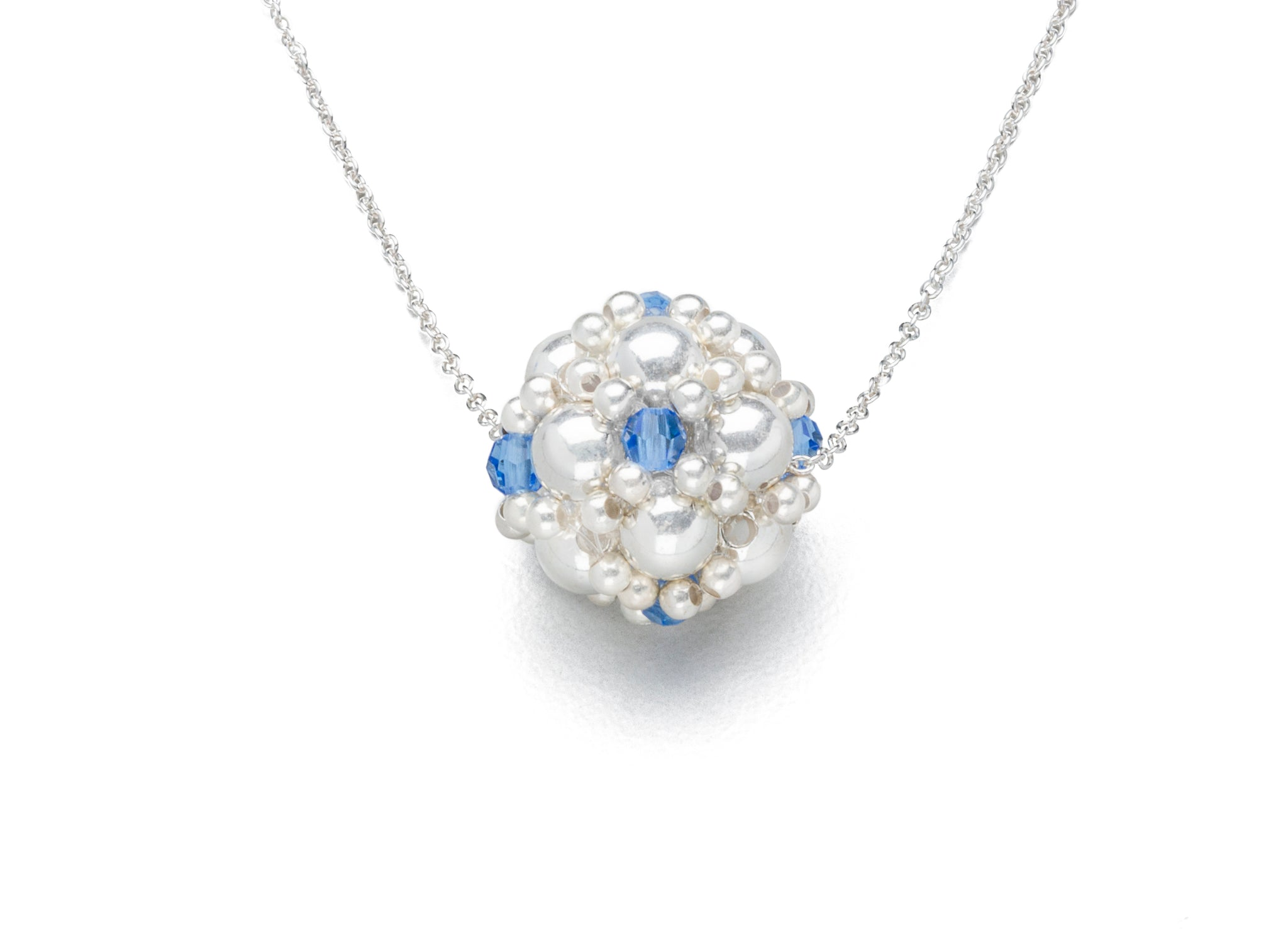 385aa268b7 Enhanced Silver Ball Necklaces, (Click to View All) - Adler Grier