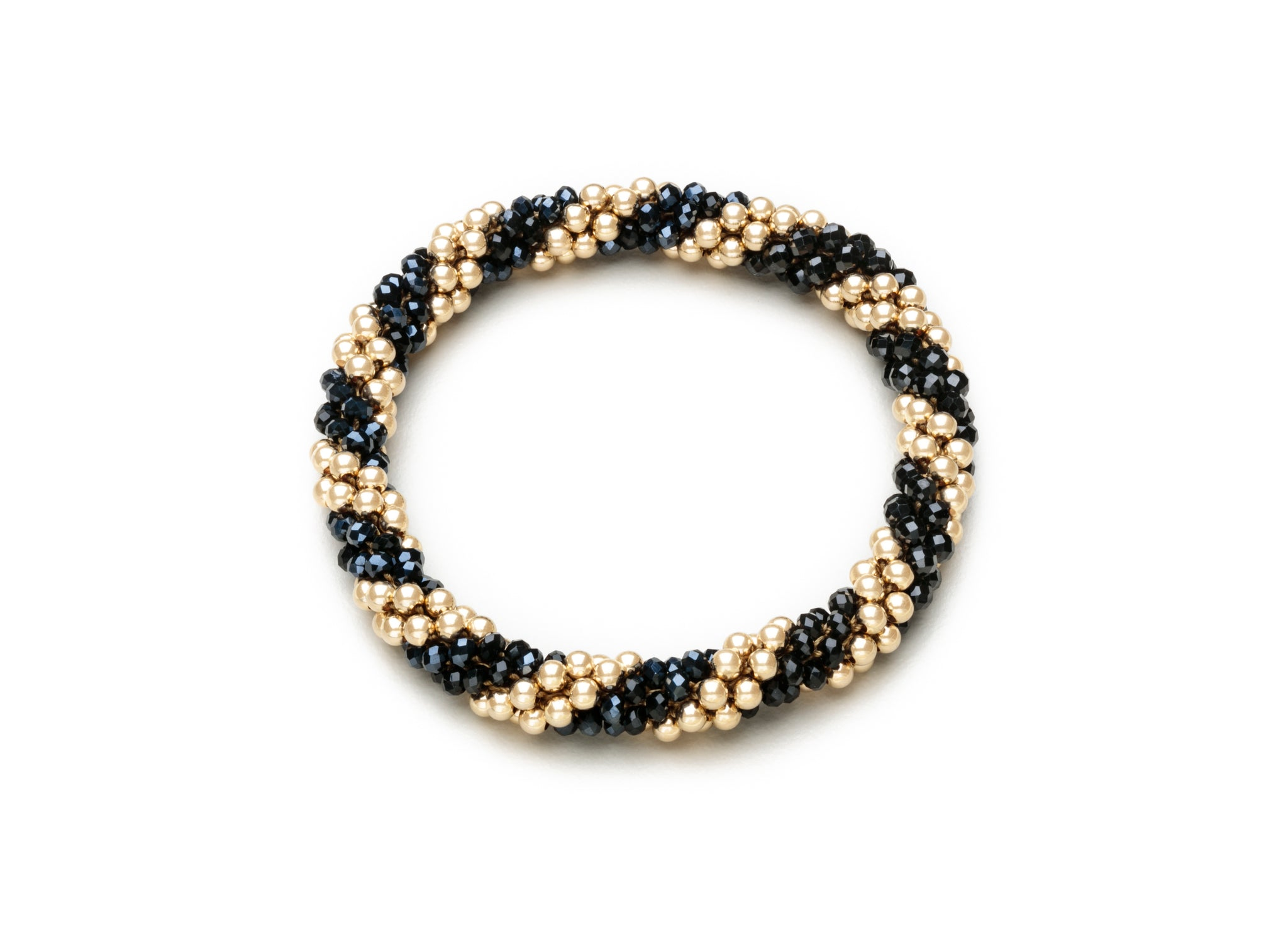 3mm Cluster Bracelets, Crystal Spiral and Accents (Click to View All)