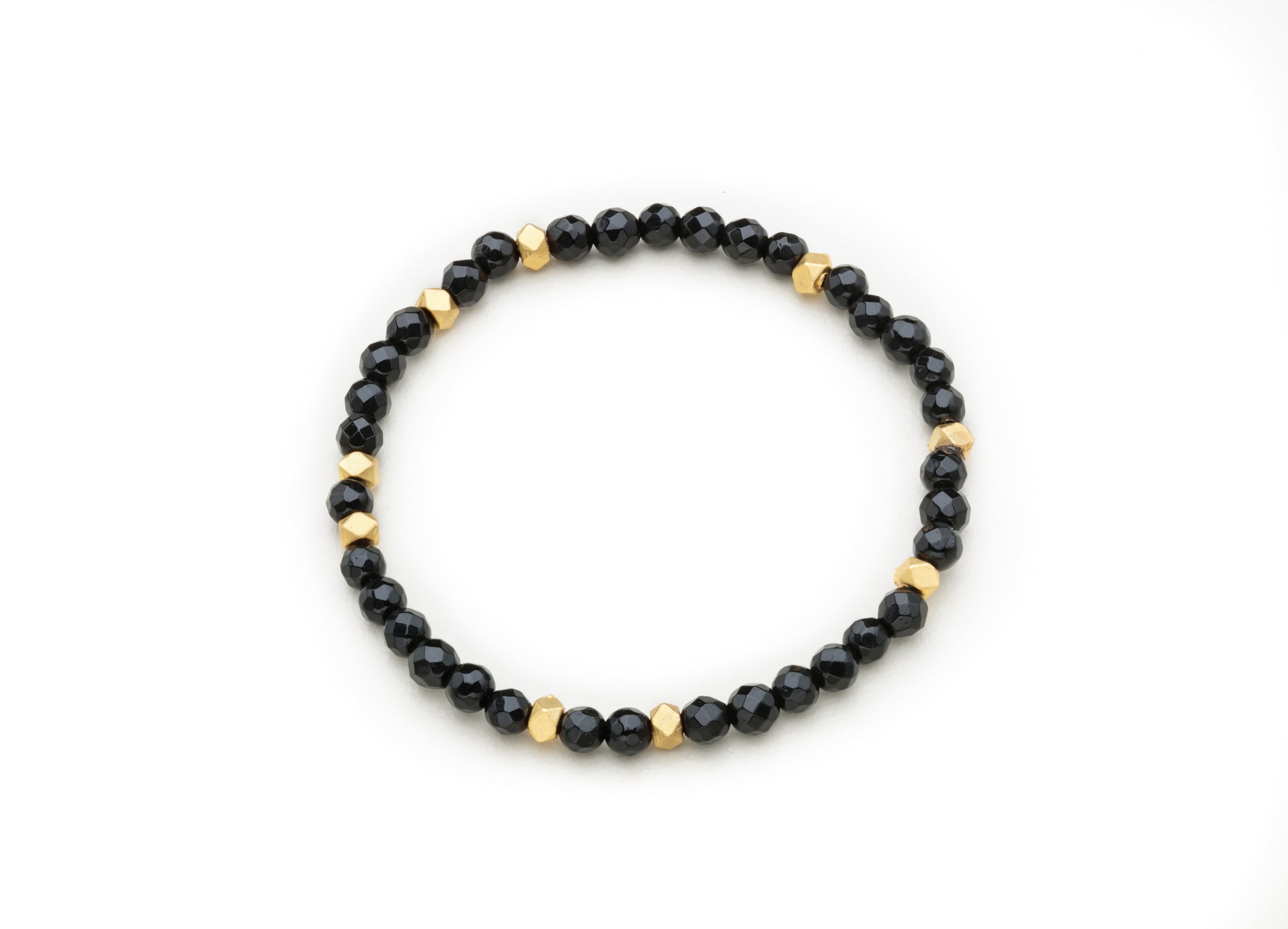 Onyx w/gold nuggets