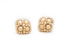 Enhanced Clover Studs, Gold