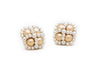 Enhanced Clover Studs, Silver and Gold
