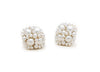 Enhanced Clover Studs, Silver