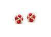 Clover Studs, Czech Glass & Crystal (Click to View All)