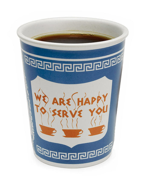 "Facebook 10oz ""We Are Happy To Serve You"" Ceramic Cup"