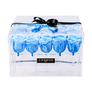 Baby Blue Large Acrylic Box