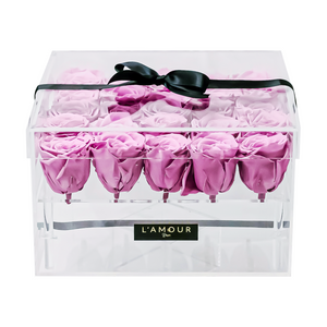 Dusty Pink Large Acrylic Box