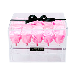 Light Pink Large Acrylic Box