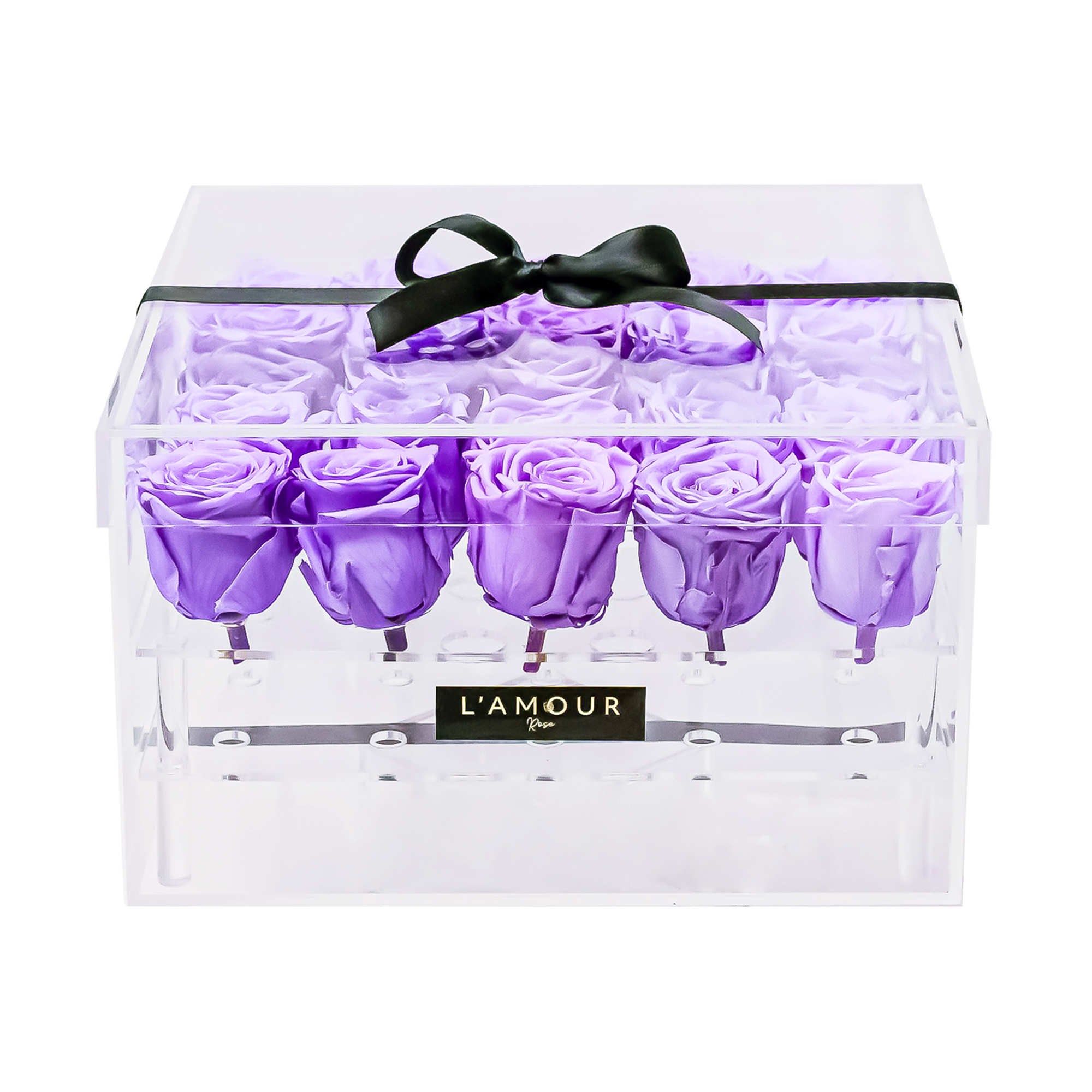 Lavender Large Acrylic Box