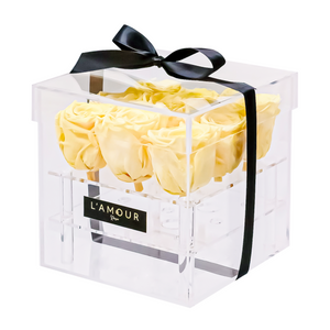 Yellow Signature Acrylic Box