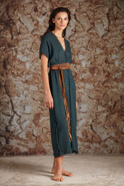 Caravana - BALCHE SMALL (small brown leather belt)